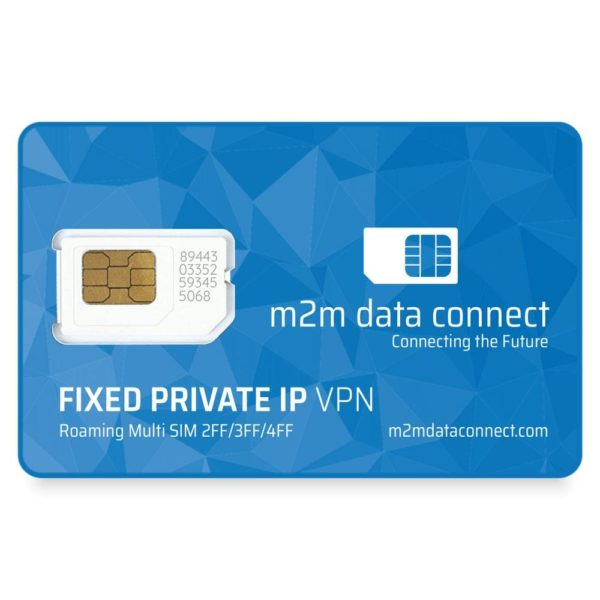 Fixed Private IP VPN SIM