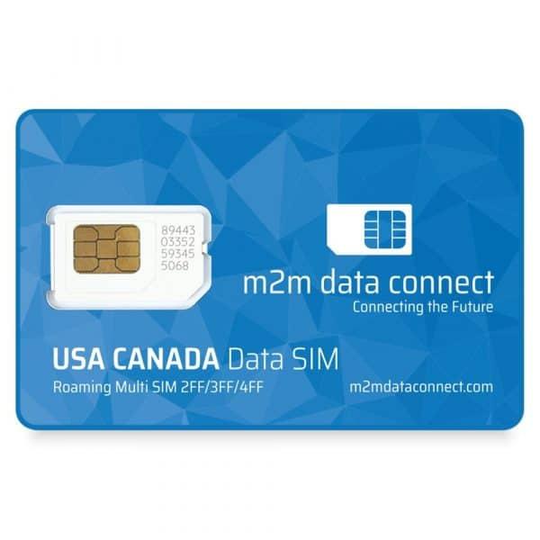 USA and Canada Data SIM